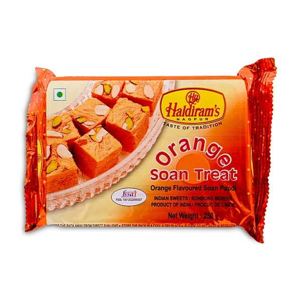 Haldirams Orange Soan Papdi 250g