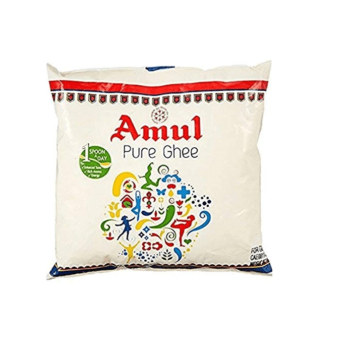 Amul Pure Ghee 500ml Pouch