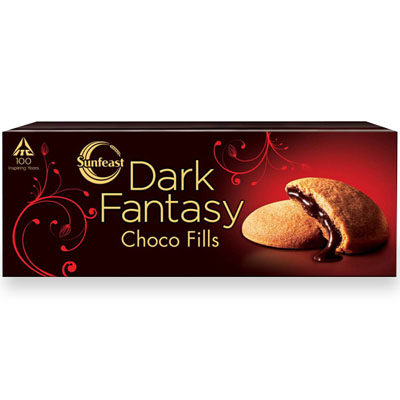 Sunfeast Dark Fantasy Choco Fills Biscuits 75g