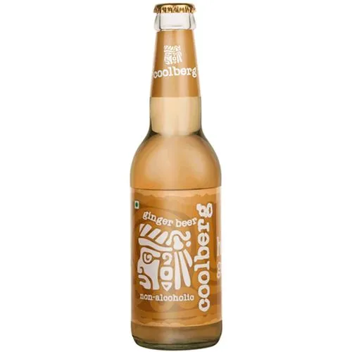 CoolBerg Non Alcoholic Ginger Beer 330ml