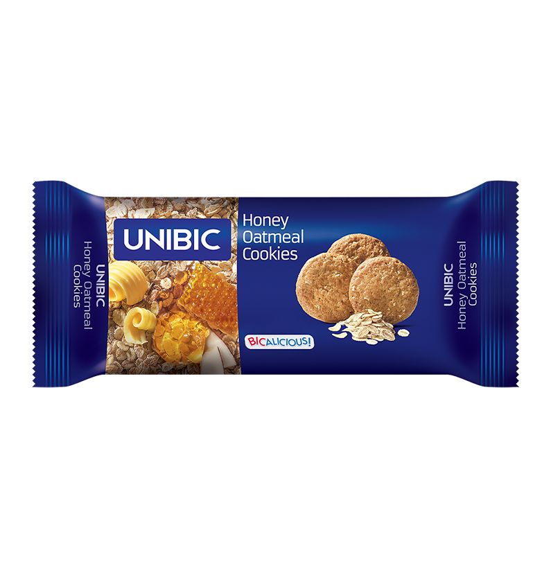 Unibic Honey Oatmeal Cookies Biscuits 75g