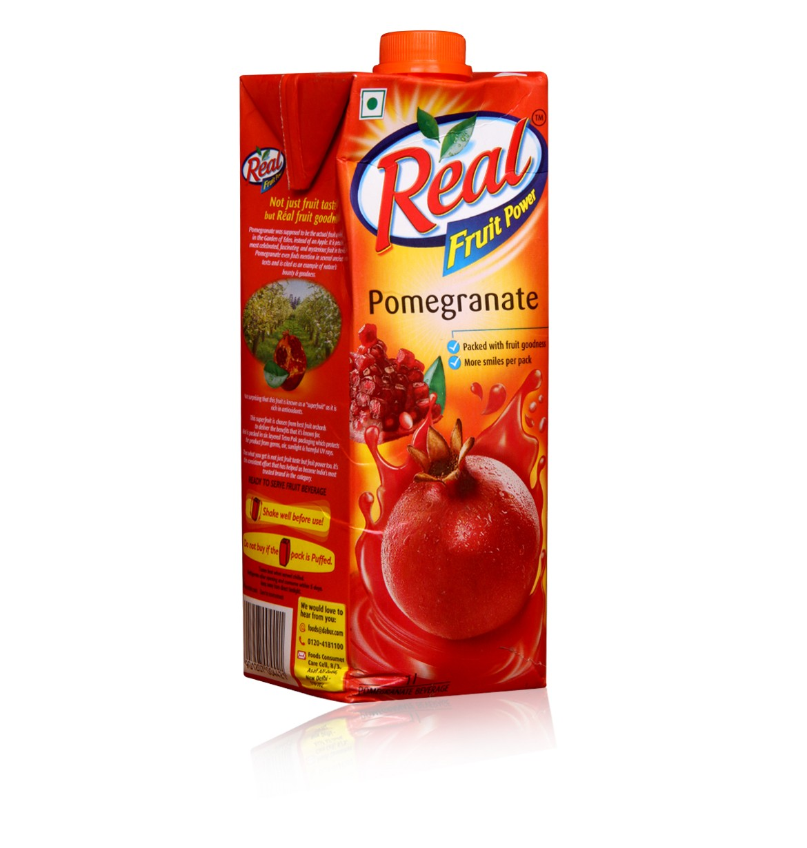 Real Fruit Power Pomegranate 1L