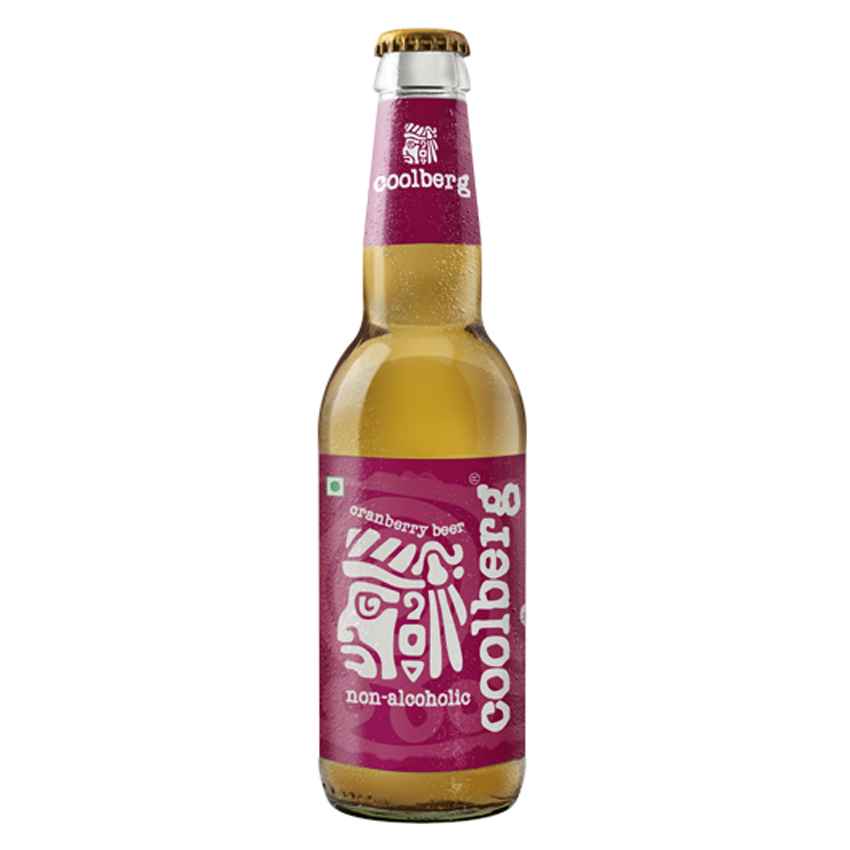Coolberg Cranberry Beer Non- Alcoholic  330 ml