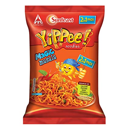 Yippee Noodles Magic Masala 120g