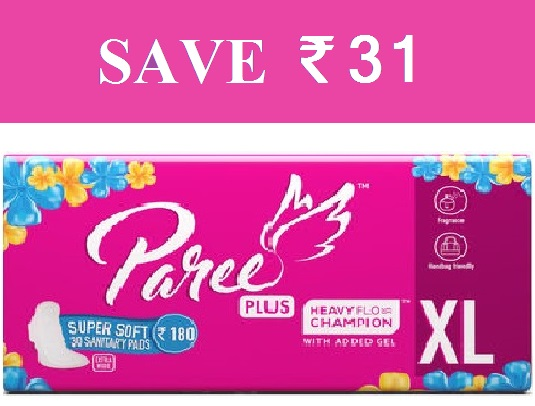 Paree Plus XL 30 Sanitary Pads