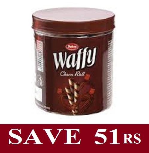 Dukes Waffy Choco Flavour Wafer Roll 250g